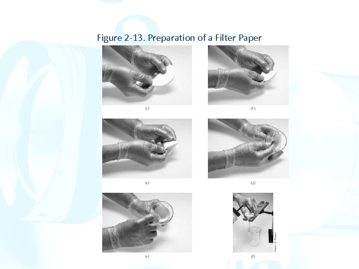 Figure 2 -13. Preparation of a Filter Paper