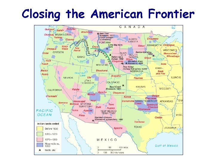 Closing the American Frontier