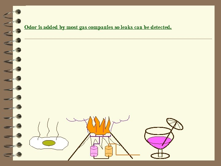 Odor is added by most gas companies so leaks can be detected.