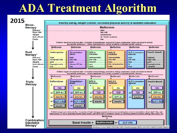 ADA Treatment Algorithm