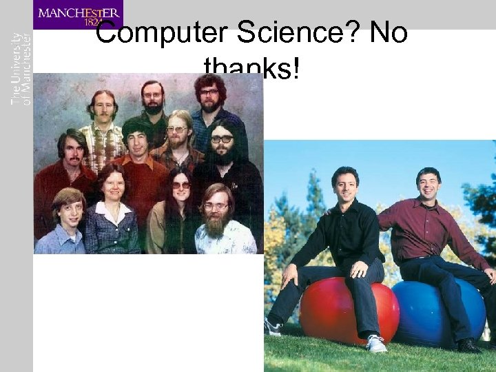 Computer Science? No thanks!