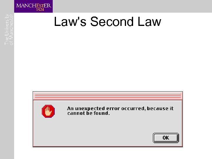 Law's Second Law