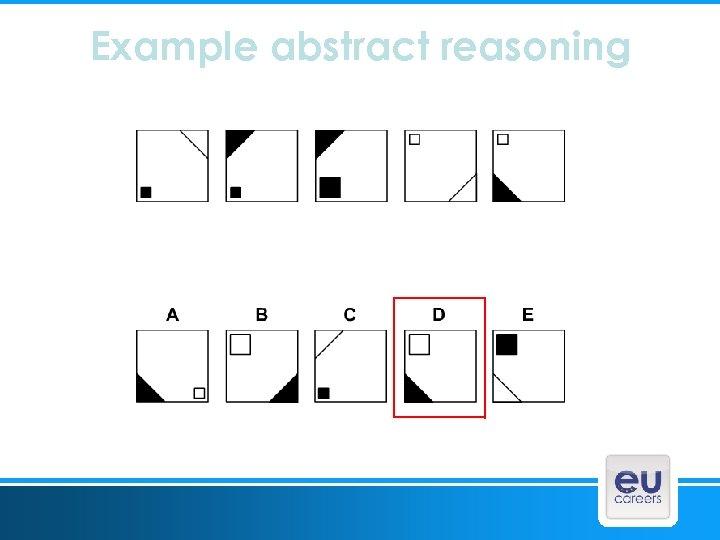Example abstract reasoning