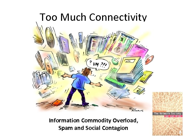 Too Much Connectivity Information Commodity Overload, Spam and Social Contagion