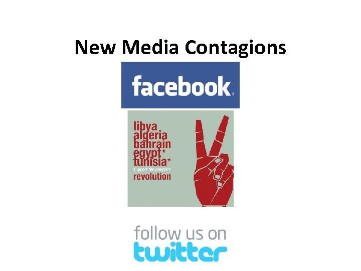 New Media Contagions