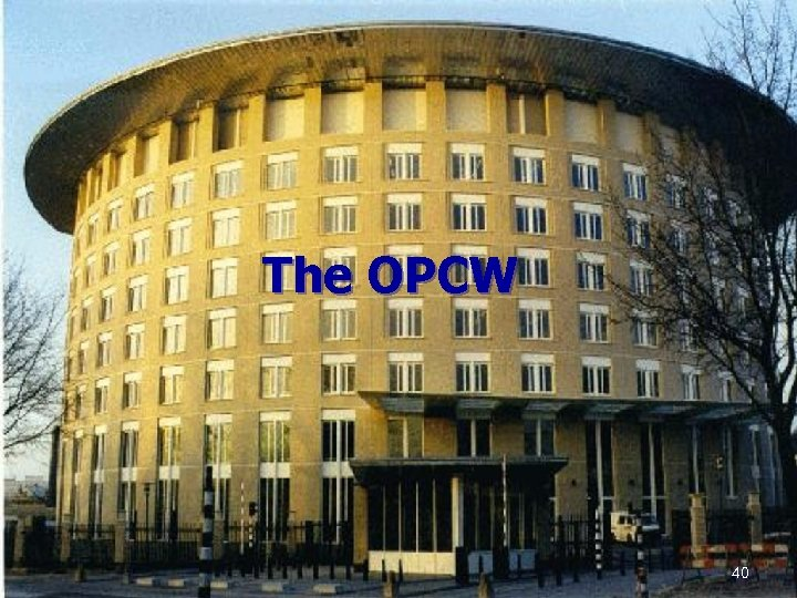 The OPCW 40