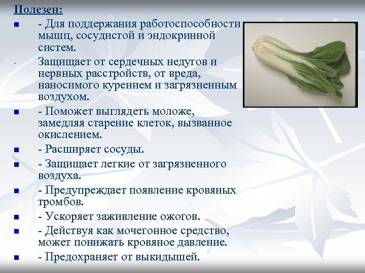 Полезен: n - Для поддержания работоспособности мышц, сосудистой и эндокринной систем. Защищает от сердечных