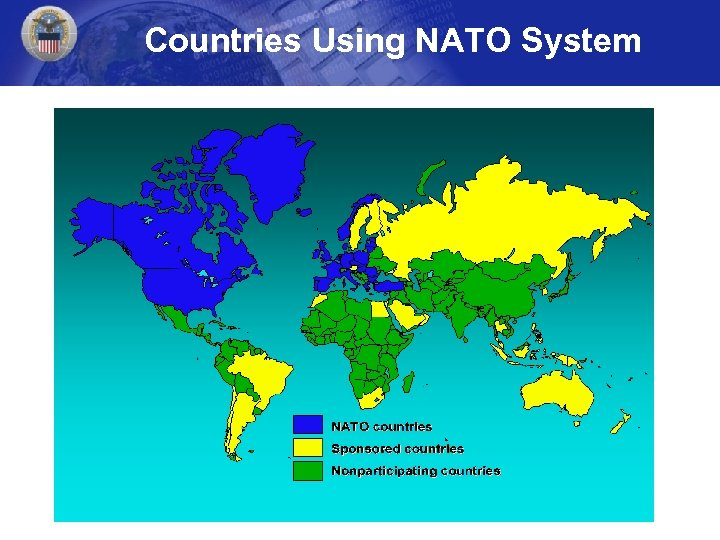 Countries Using NATO System
