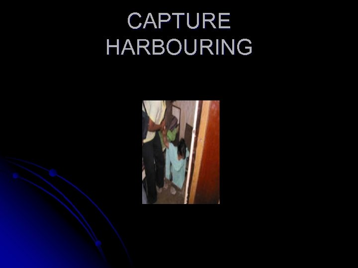 CAPTURE HARBOURING