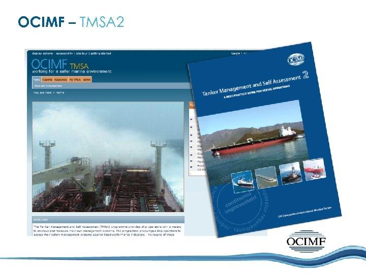 OCIMF – TMSA 2