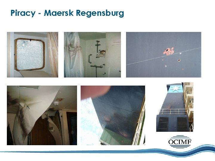 Piracy - Maersk Regensburg