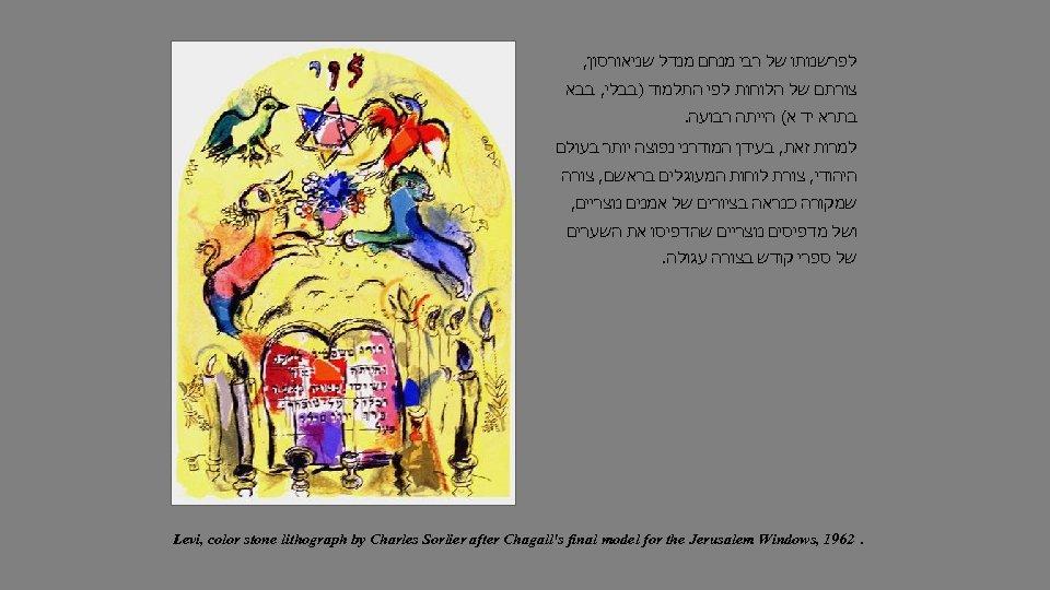 לפרשנותו של רבי מנחם מנדל שניאורסון, צורתם של הלוחות לפי התלמוד )בבלי, בבא
