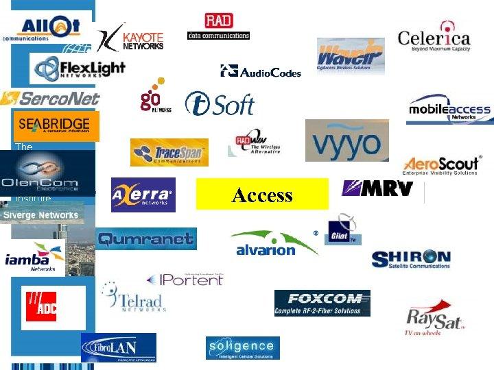 The Israeli Export & International Cooperation Institute Access
