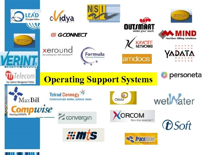 The Israeli Export & International Cooperation Institute Operating Support Systems