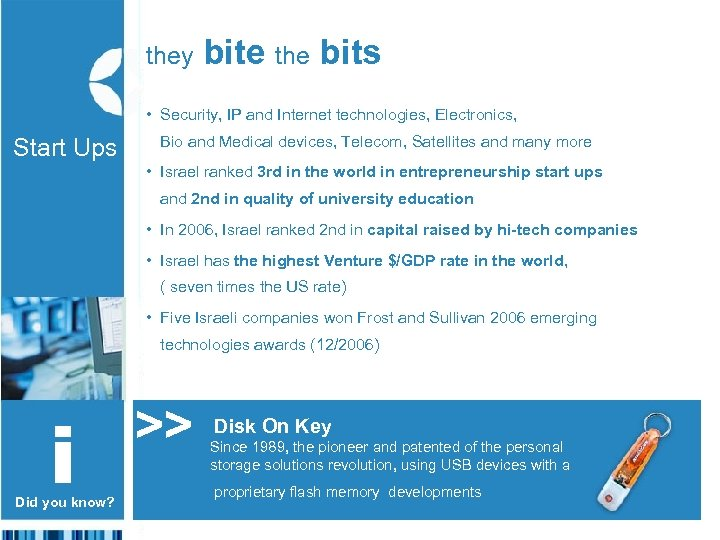 they bite the bits • Security, IP and Internet technologies, Electronics, Start Ups Bio