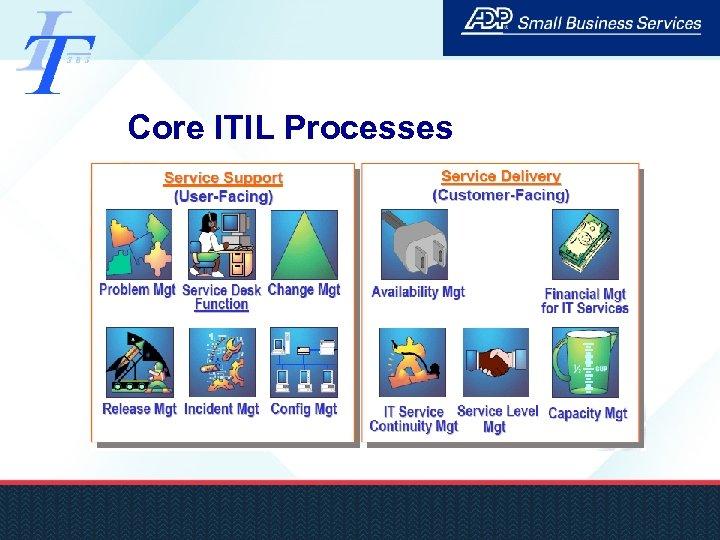 Core ITIL Processes