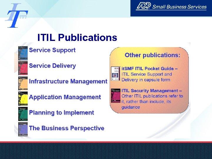 ITIL Publications