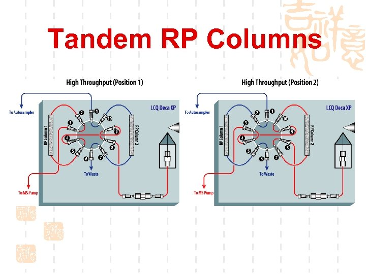Tandem RP Columns