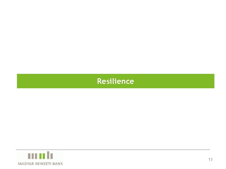 Resilience 13