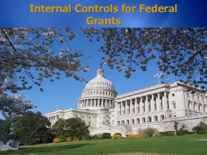 Internal Controls for Federal Grants