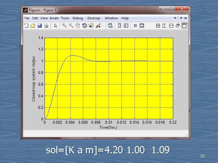 sol=[K a m]=4. 20 1. 09 35