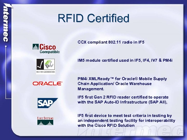 RFID Branko Zebec Regional Marketing Manager July —