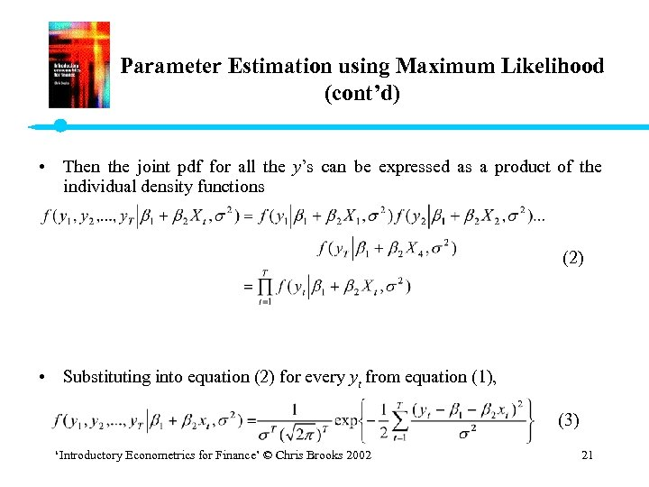 Finance pdf brooks chris introductory for econometrics