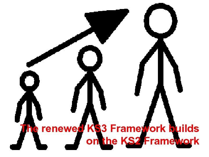 The renewed KS 3 Framework builds on the KS 2 Framework