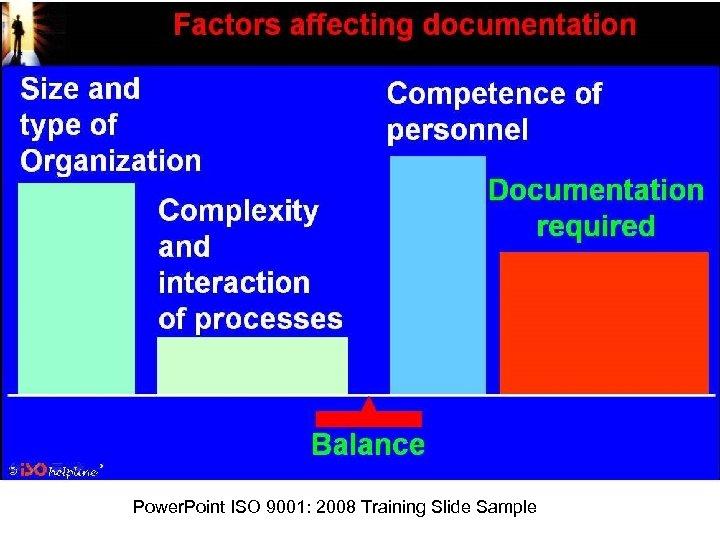 Power. Point ISO 9001: 2008 Training Slide Sample