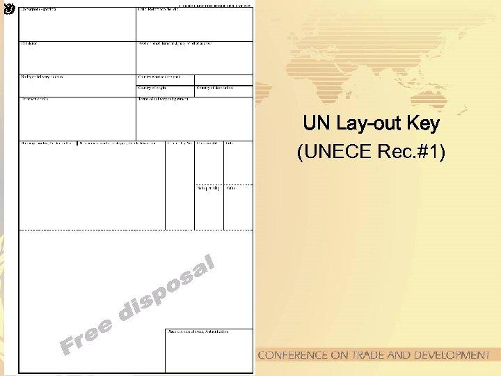 UN Lay-out Key (UNECE Rec. #1)