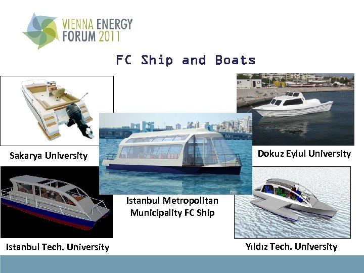 FC Ship and Boats Dokuz Eylul University Sakarya University Istanbul Metropolitan Municipality FC Ship
