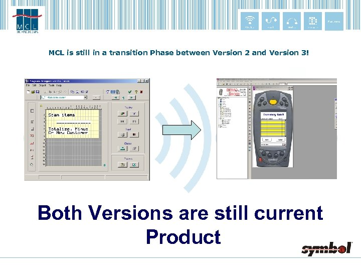 MCL is still in a transition Phase between Version 2 and Version 3! Both