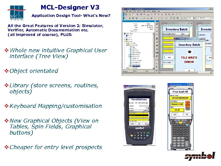 MCL-Designer V 3 Application Design Tool- What's New? All the Great Features of Version