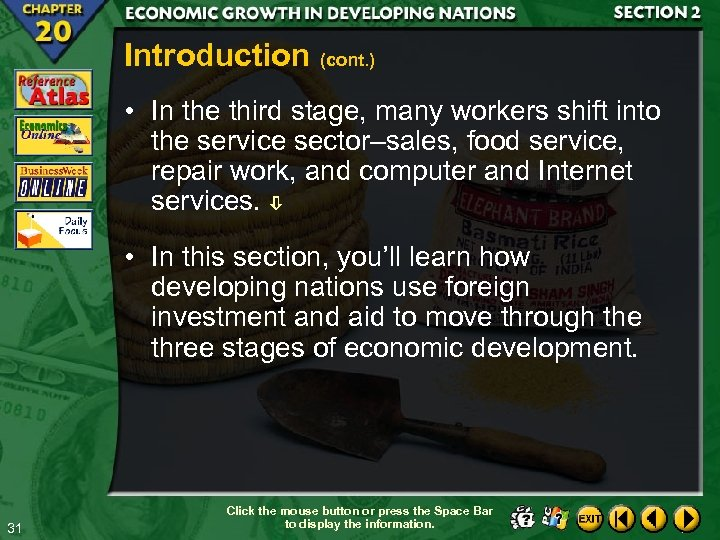 Introduction (cont. ) • In the third stage, many workers shift into the service