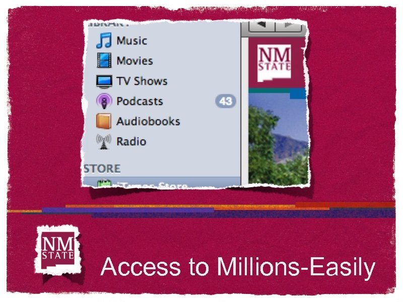 Access to Millions-Easily