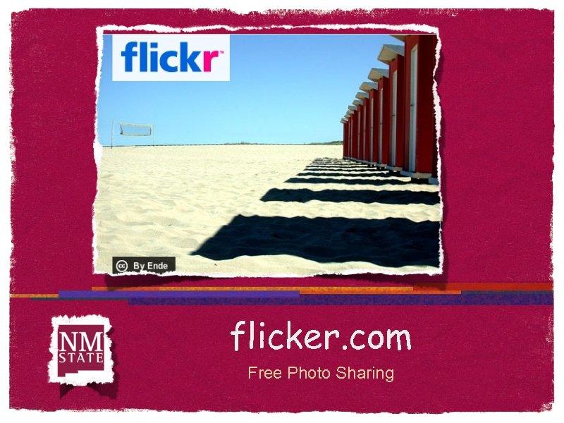 flicker. com Free Photo Sharing