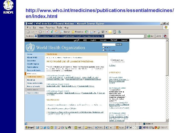 http: //www. who. int/medicines/publications/essentialmedicines/ en/index. html