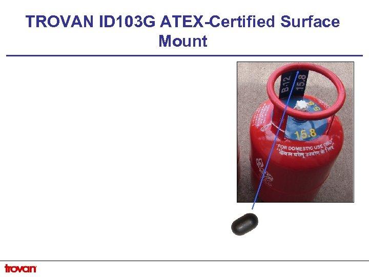TROVAN ID 103 G ATEX-Certified Surface Mount