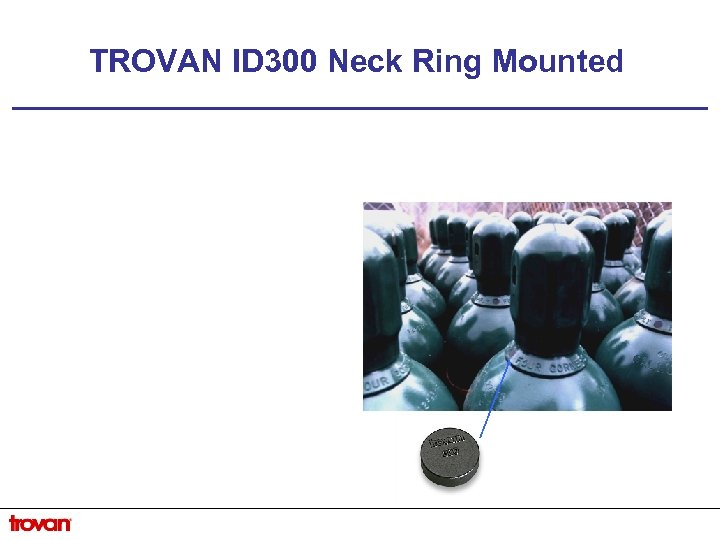 TROVAN ID 300 Neck Ring Mounted