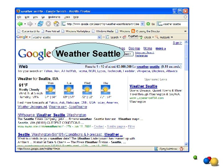 Weather Seattle