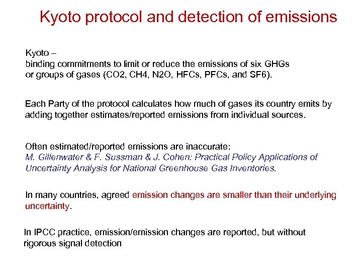 an analysis of the kyoto protocol as a solution to reduce the emission of greenhouse gases Although all countries that signed the kyoto protocol agreed to greenhouse gas  absorb greenhouse gases out  kyoto mechanisms under the kyoto protocol,.