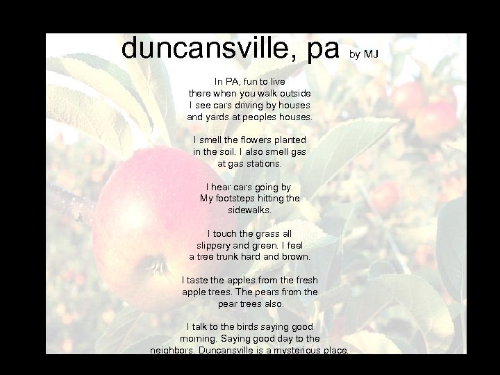 duncansville, pa by MJ In PA, fun to live there when you walk outside