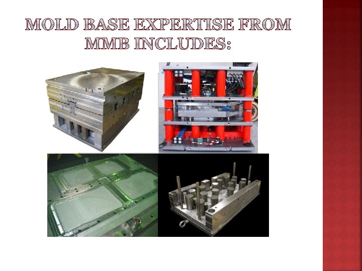 Plastic Injection Mold Bases Compression Tooling Rubber Injection Floor Mat Tooling Guided Ejection Systems