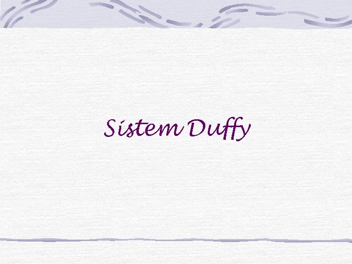 Sistem Duffy