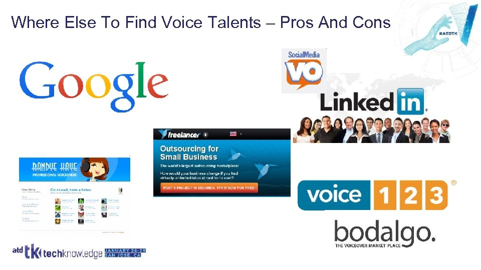 Where Else To Find Voice Talents – Pros And Cons