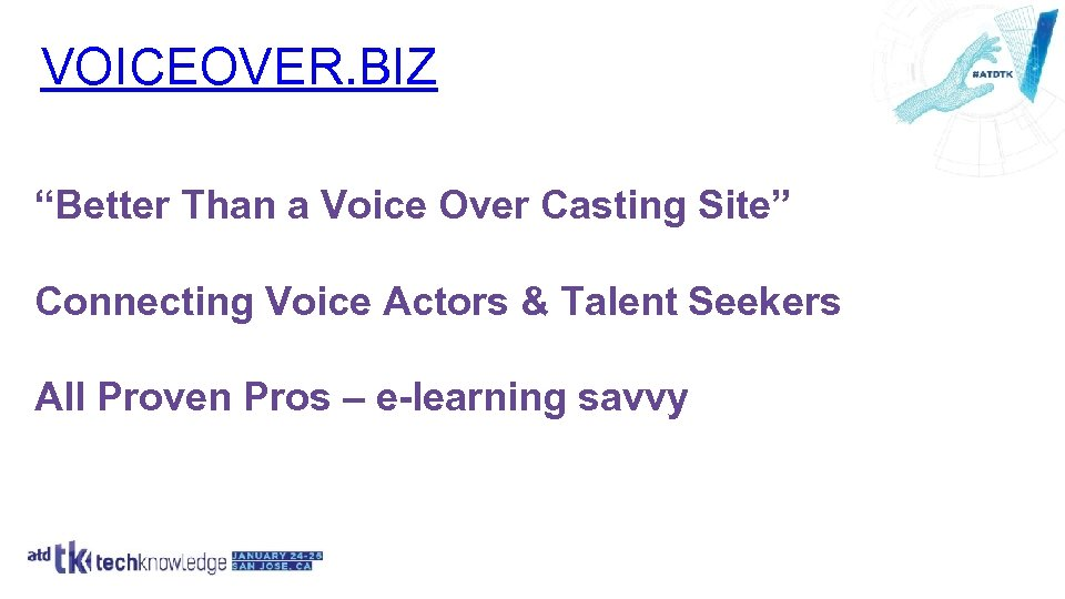 "VOICEOVER. BIZ ""Better Than a Voice Over Casting Site"" Connecting Voice Actors & Talent"