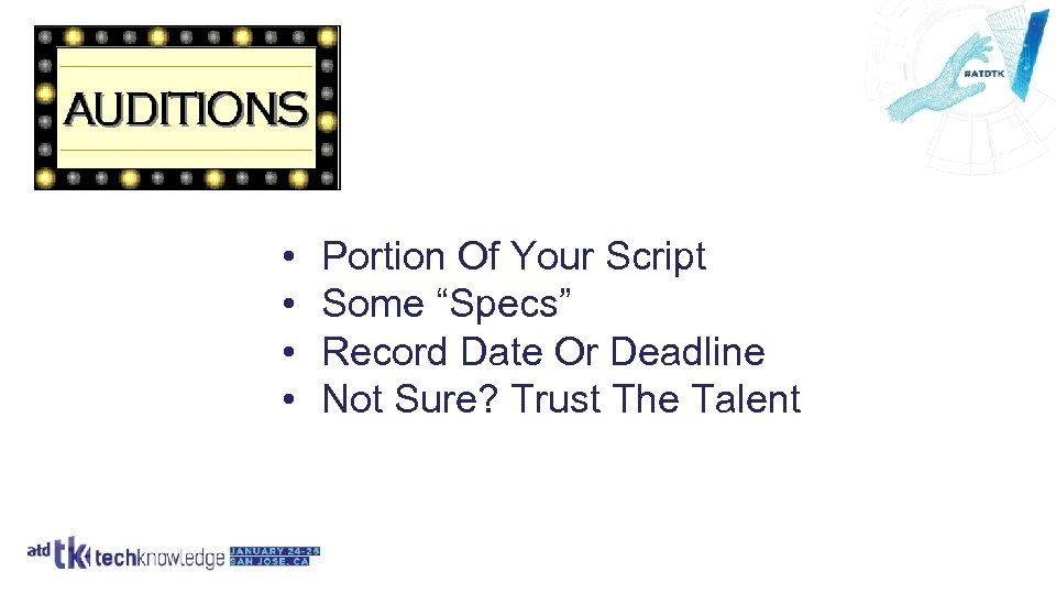 "• • Portion Of Your Script Some ""Specs"" Record Date Or Deadline Not"