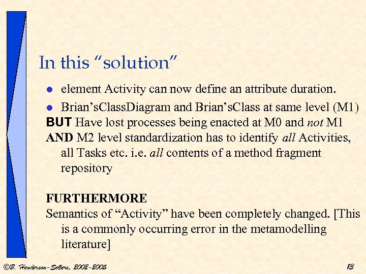 """In this """"solution"""" element Activity can now define an attribute duration. l Brian's. Class."""
