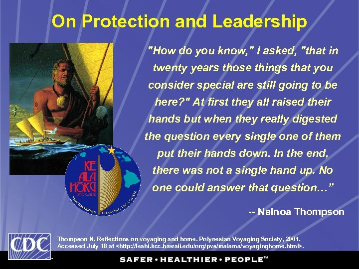 On Protection and Leadership