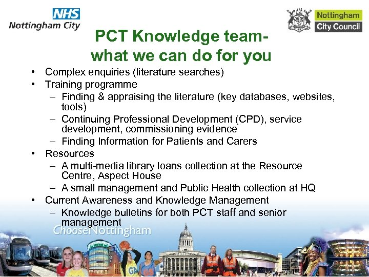 PCT Knowledge teamwhat we can do for you • Complex enquiries (literature searches) •